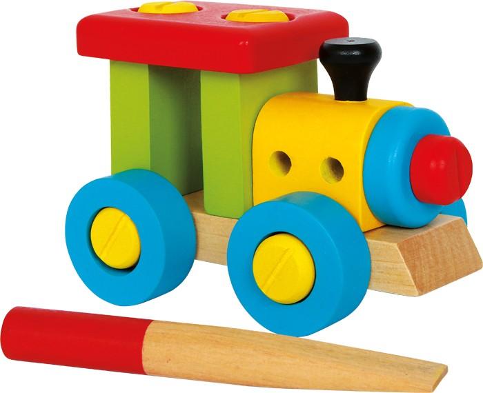 Small Foot Stavebnica - Konštrukčný vlak