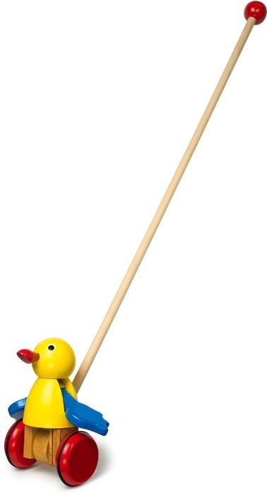 Small Foot Ťahacia hračka vták s mávajúcimi krídlami