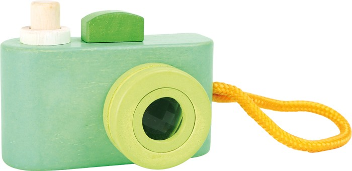 Small Foot Drevená Hračka Fotoaparát