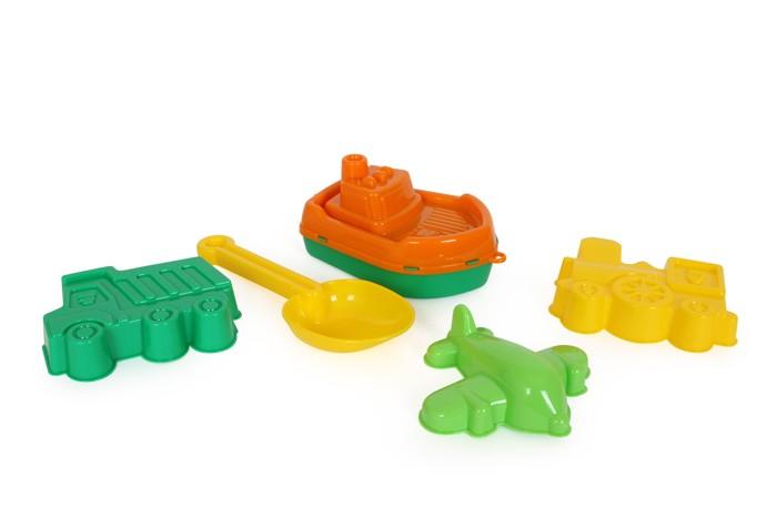Wader Hračky na piesek Loď s formičkami