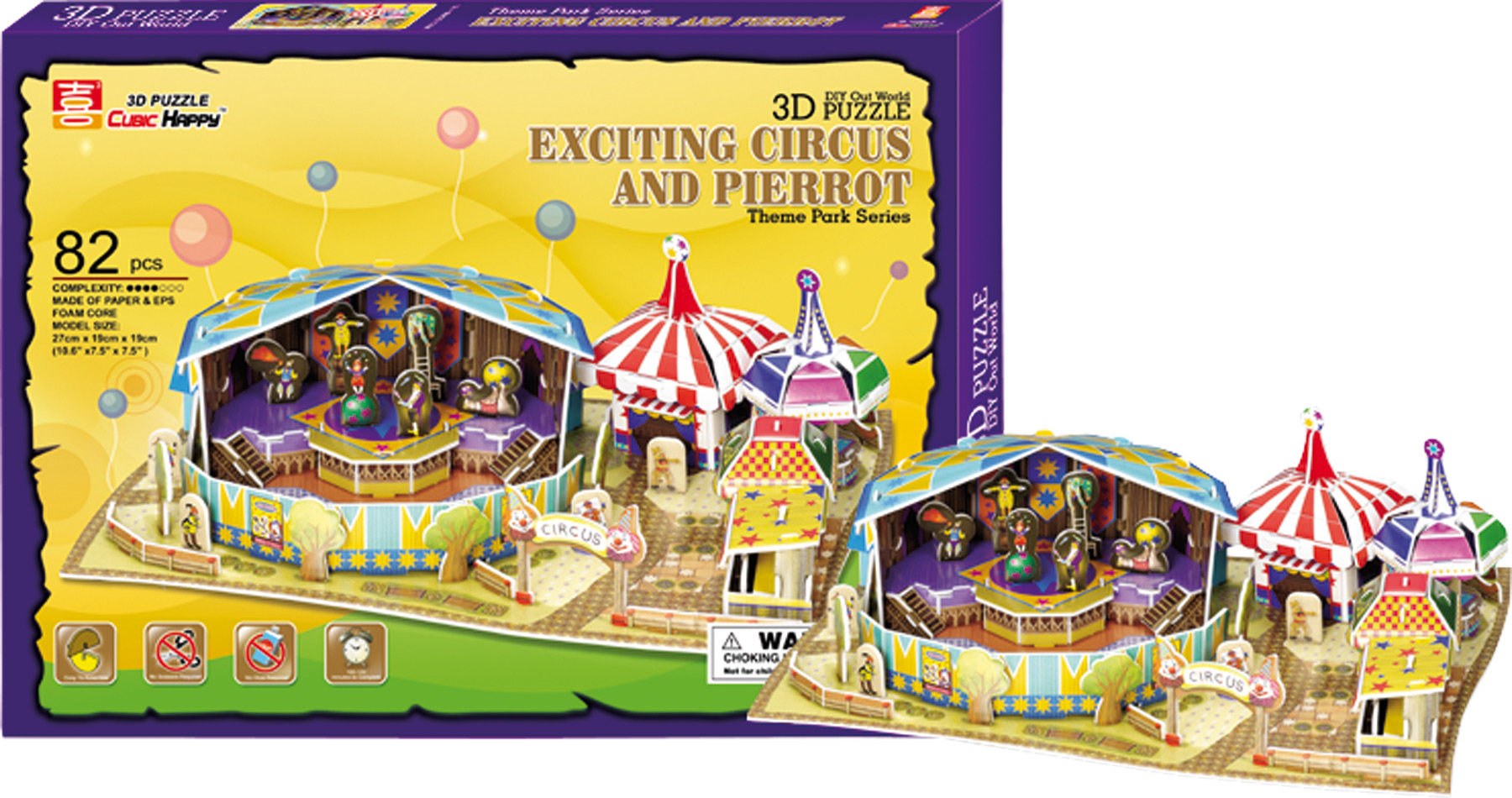 Small Foot 3D Puzzle Cirkus