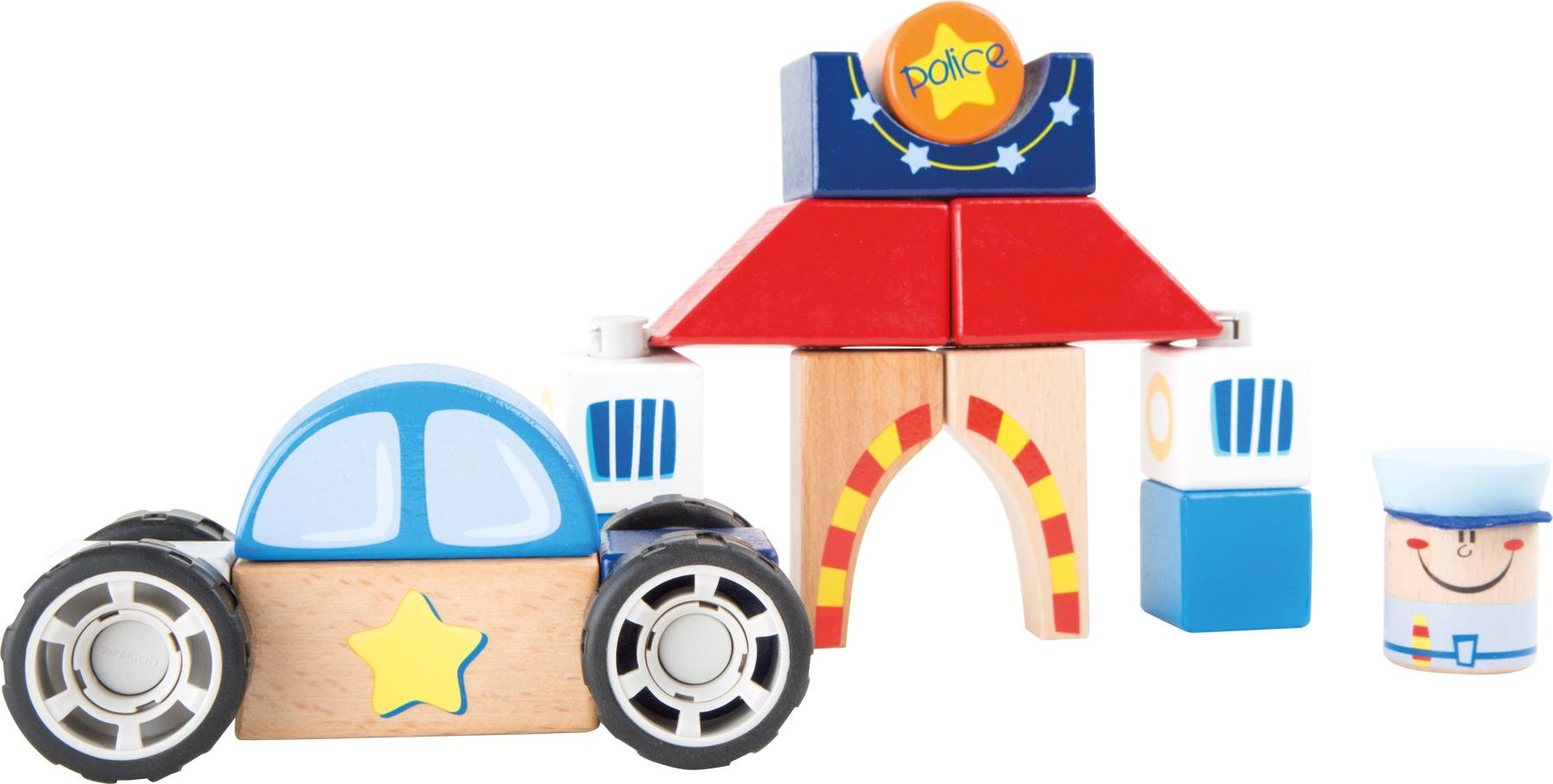 Small Foot Policajné konštrukčné auto