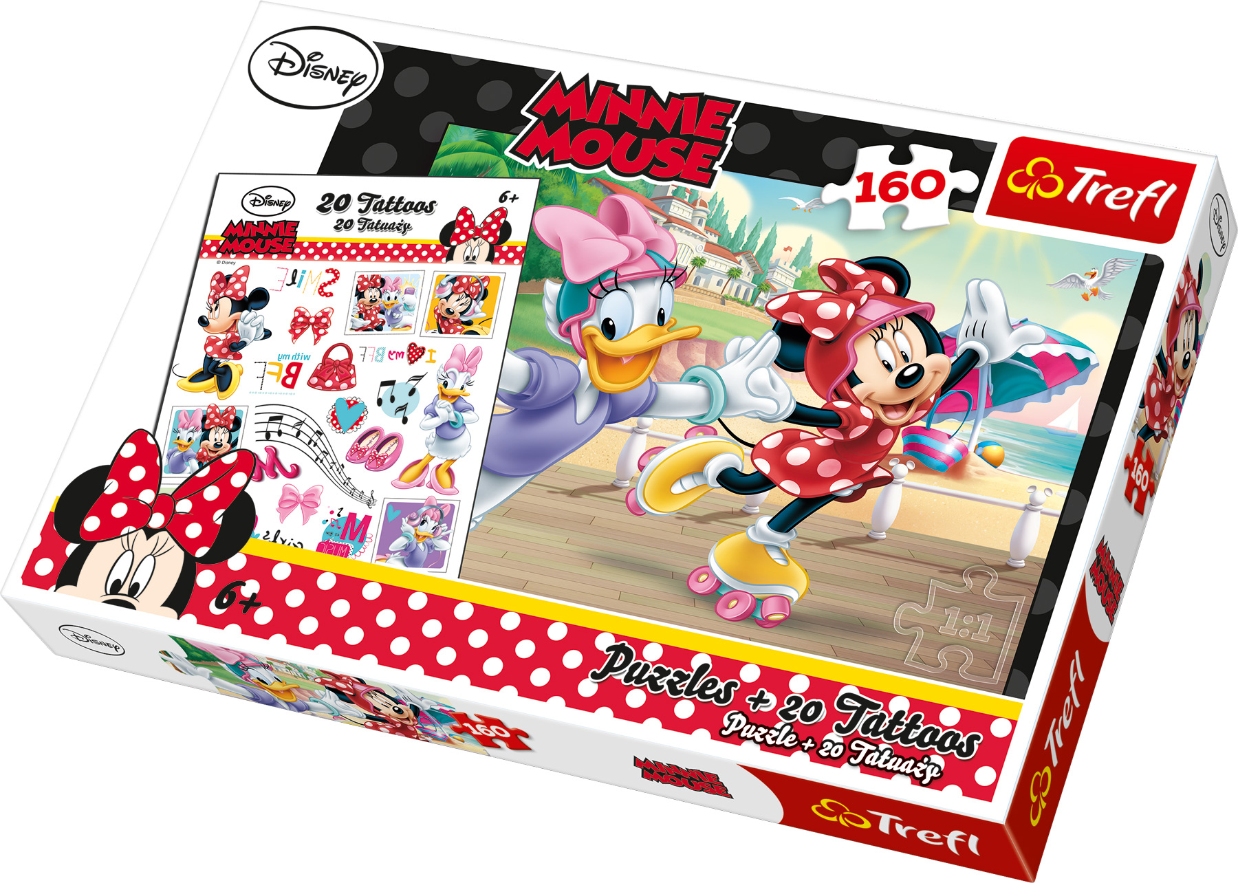 Small Foot Puzzle Minnie 100ks