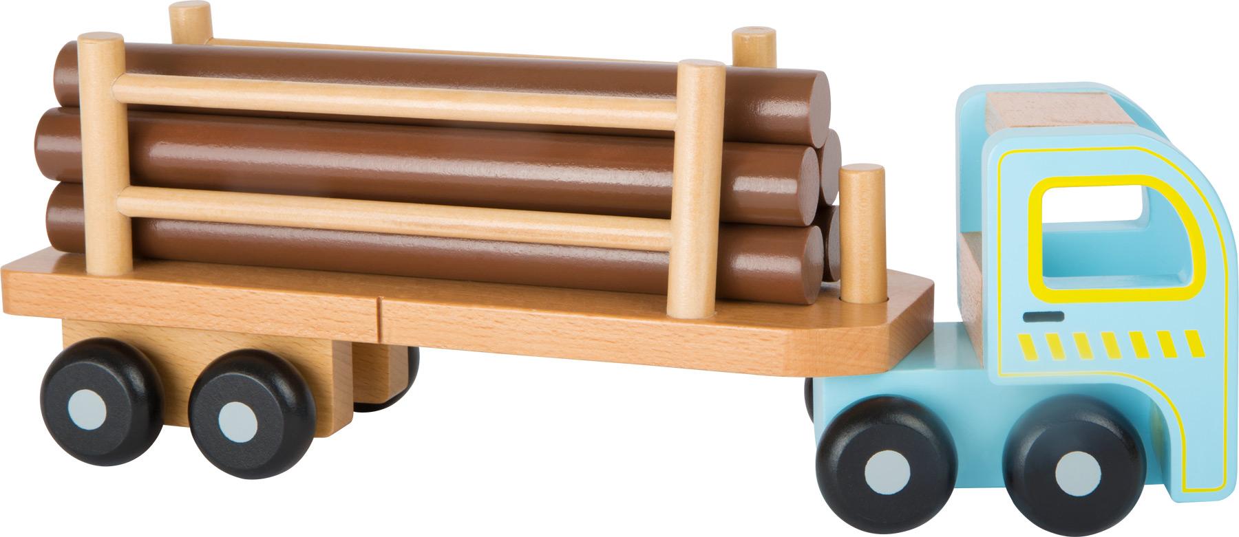 Small Foot Nákladné auto na prevoz dreva