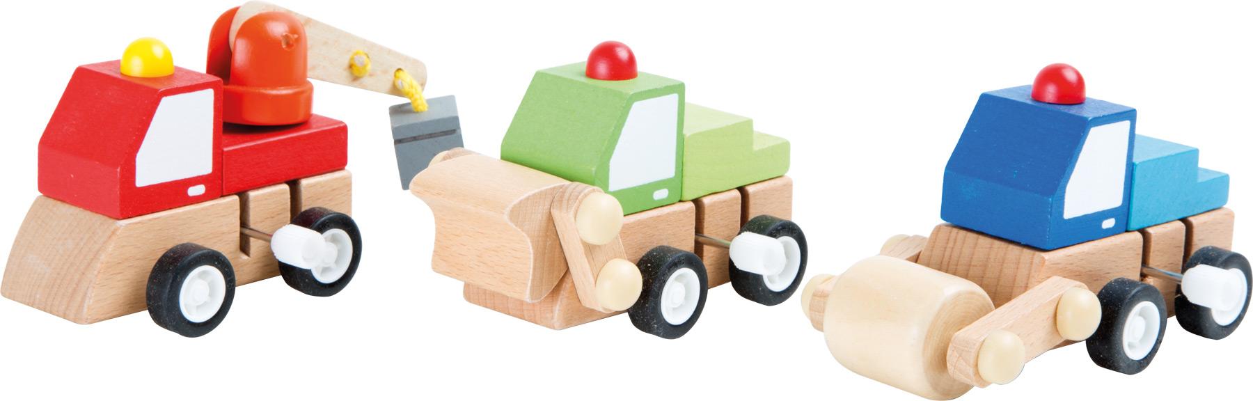 Small Foot Stavebné vozidlá na naťahovanie