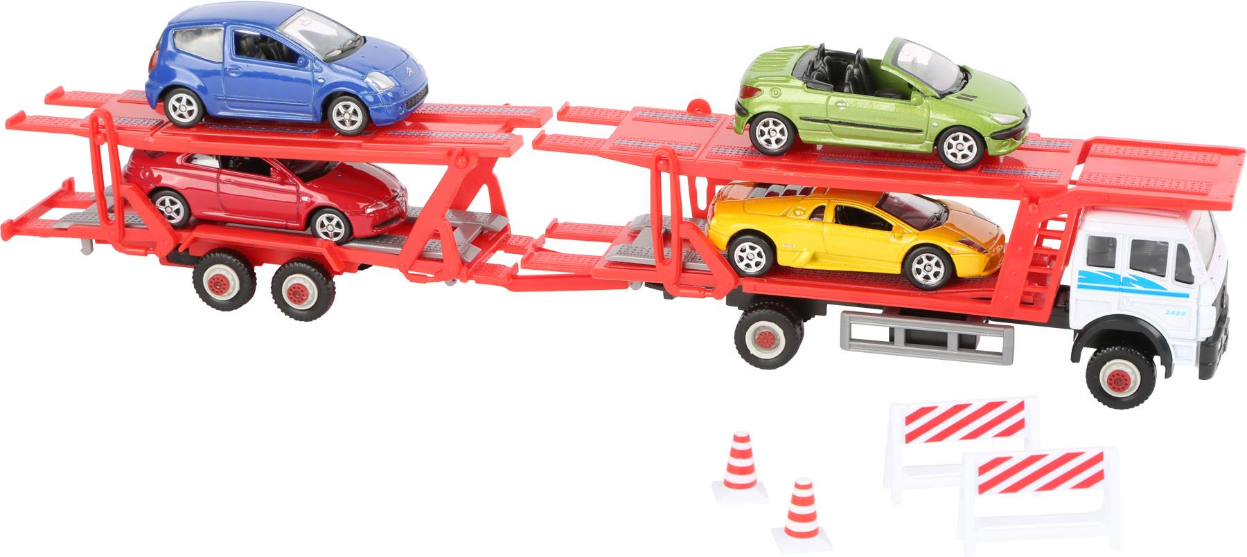 Small Foot Kamión s modelmi áut