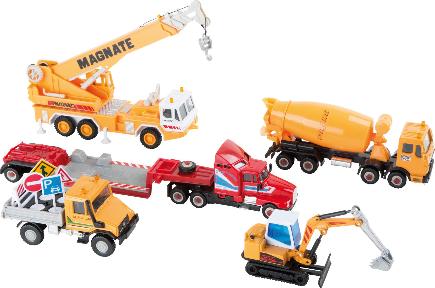 Small Foot Modely stavebných strojov