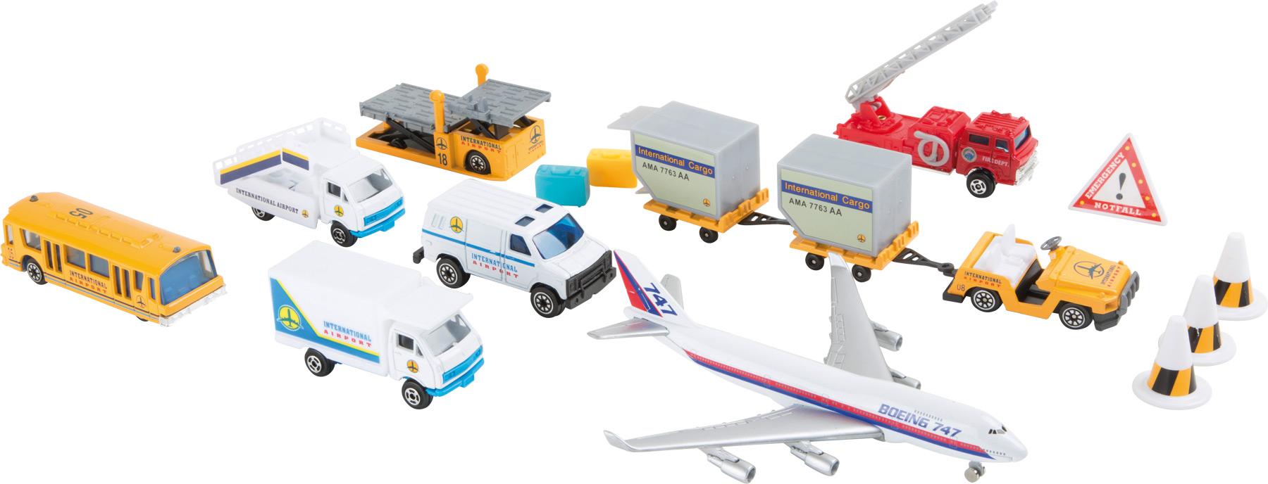 Small Foot Modely letiskových vozidiel