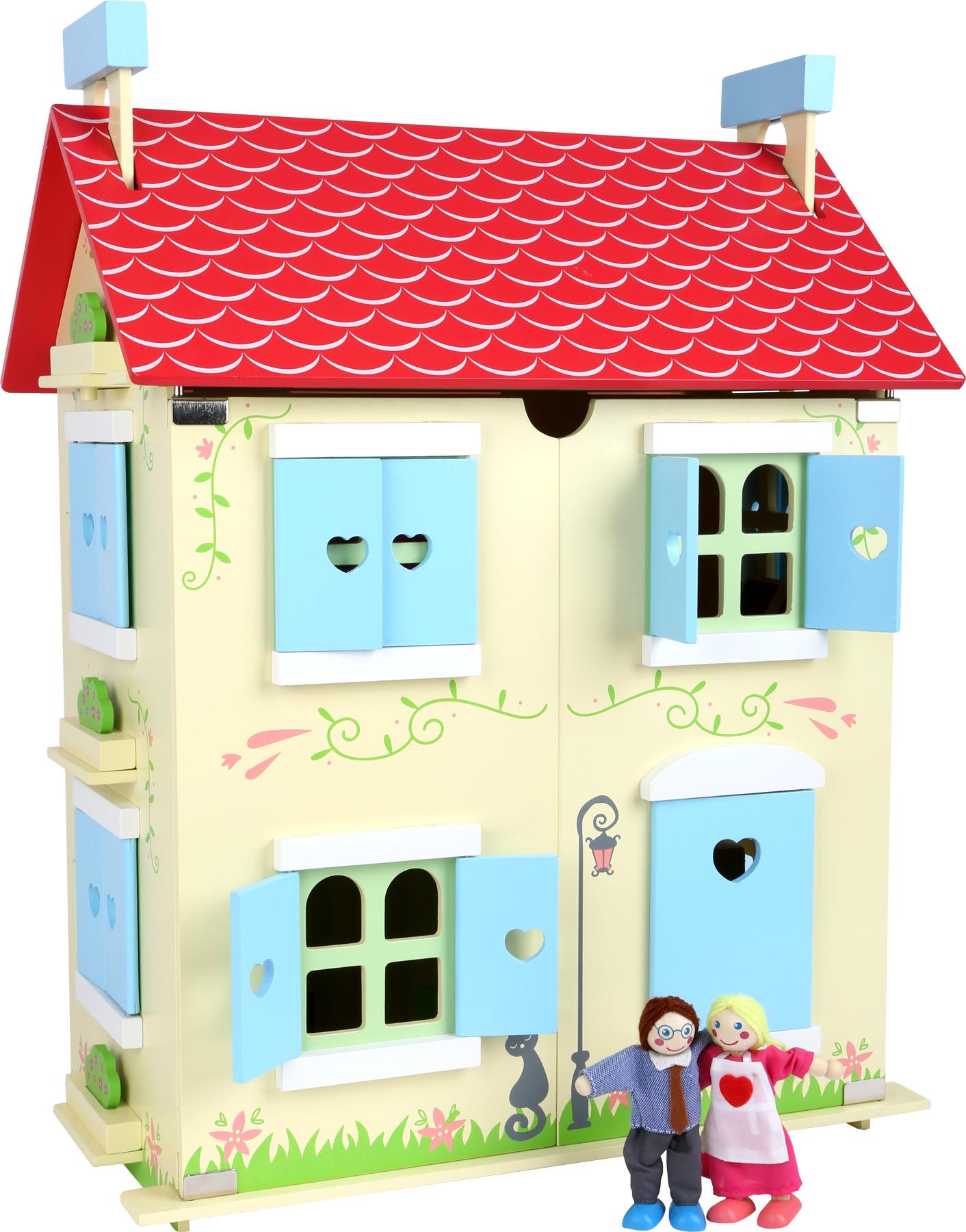 Small Foot Domček pre bábiky s odnímateľnou strechou