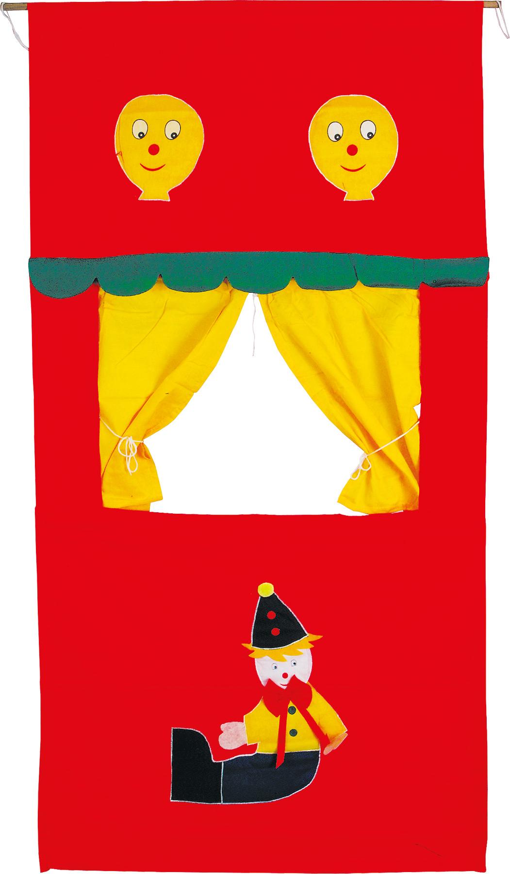 Small Foot Látkové bábkové divadlo