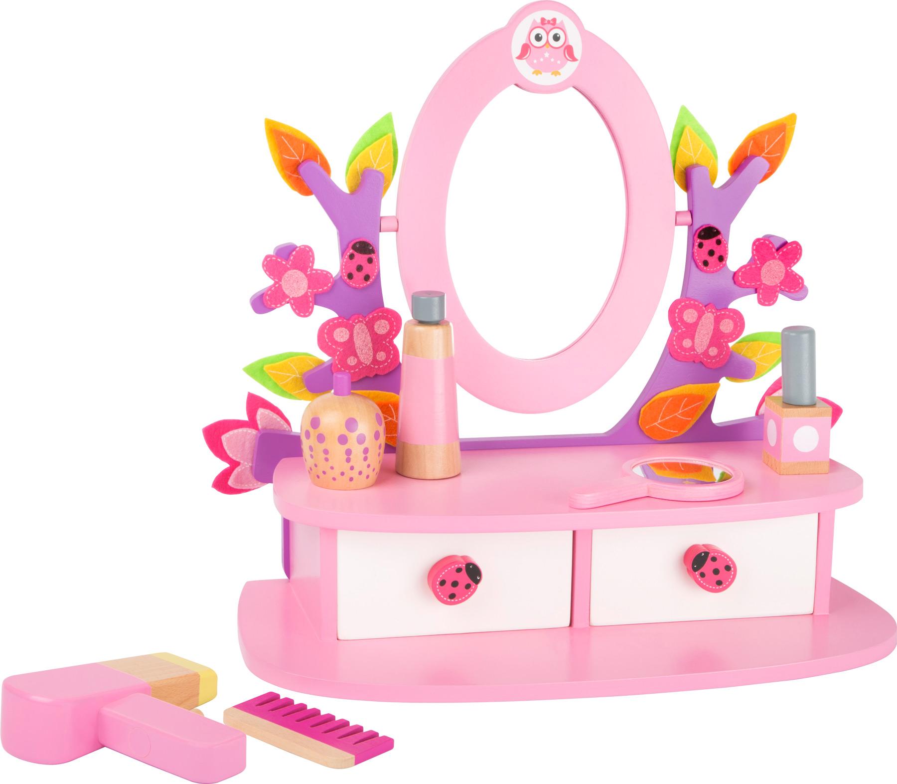 Small Foot Kozmetický stolček ružový