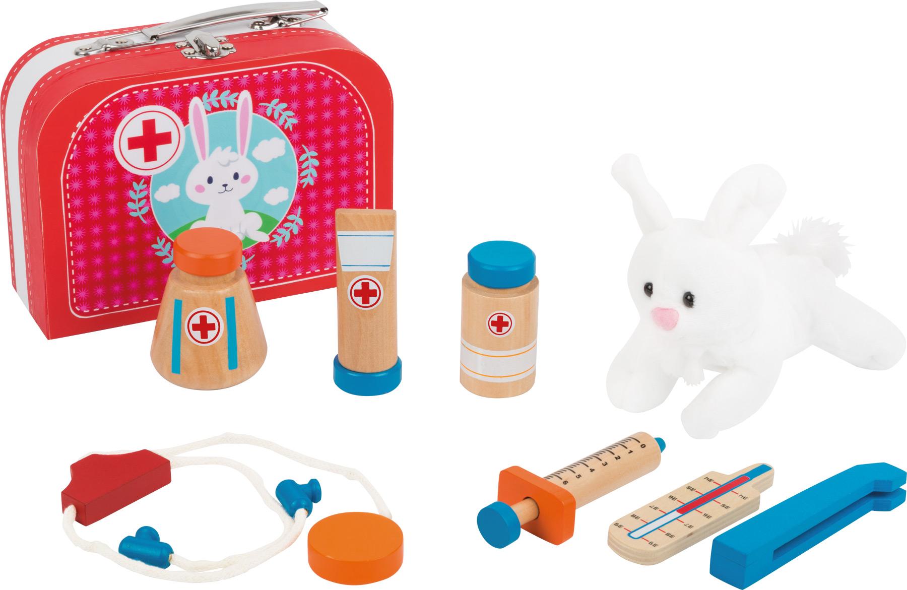 Doktorský kufrík so zajačikom