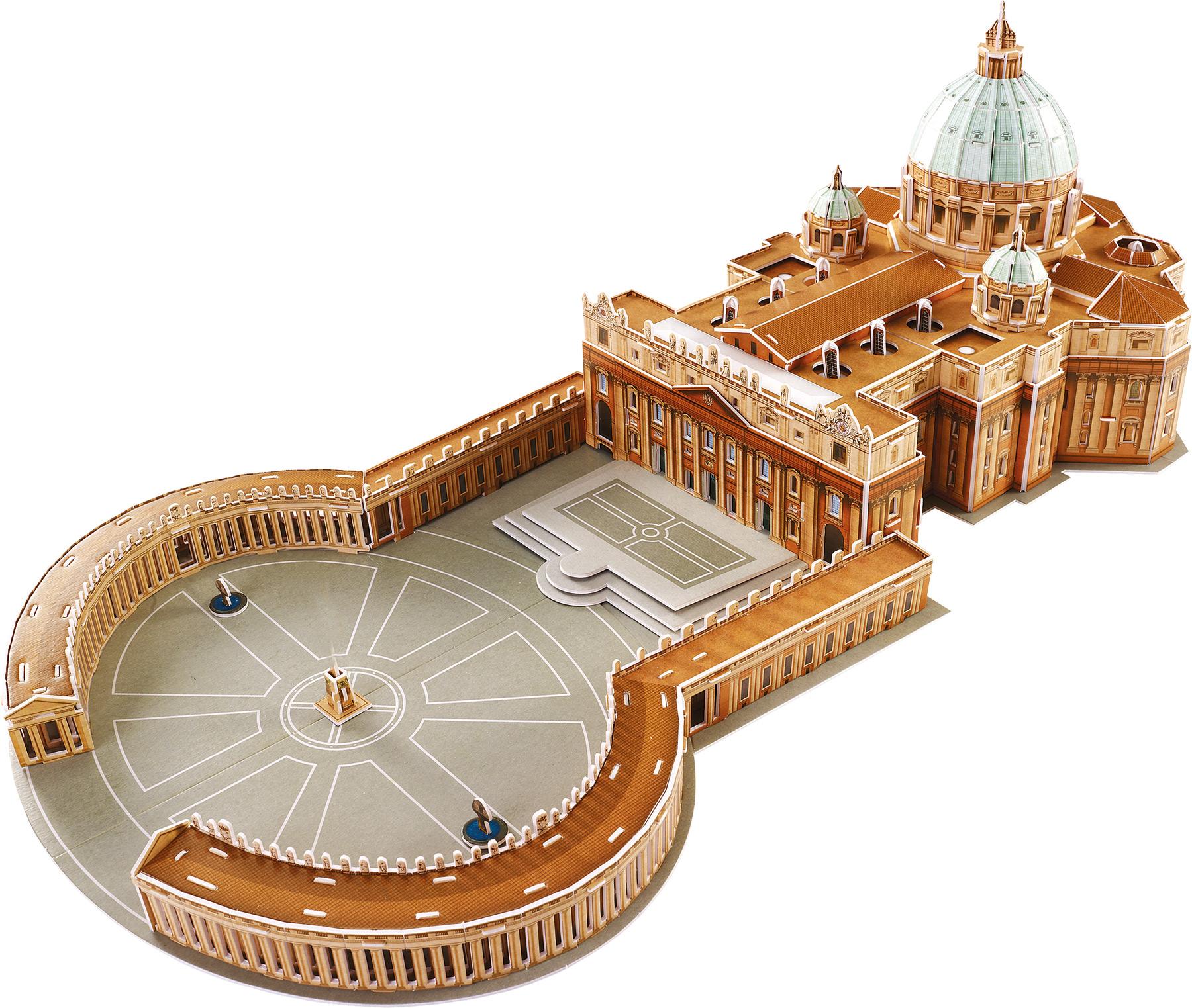 Small Foot 3D Puzzle Bazilika svätého Petra