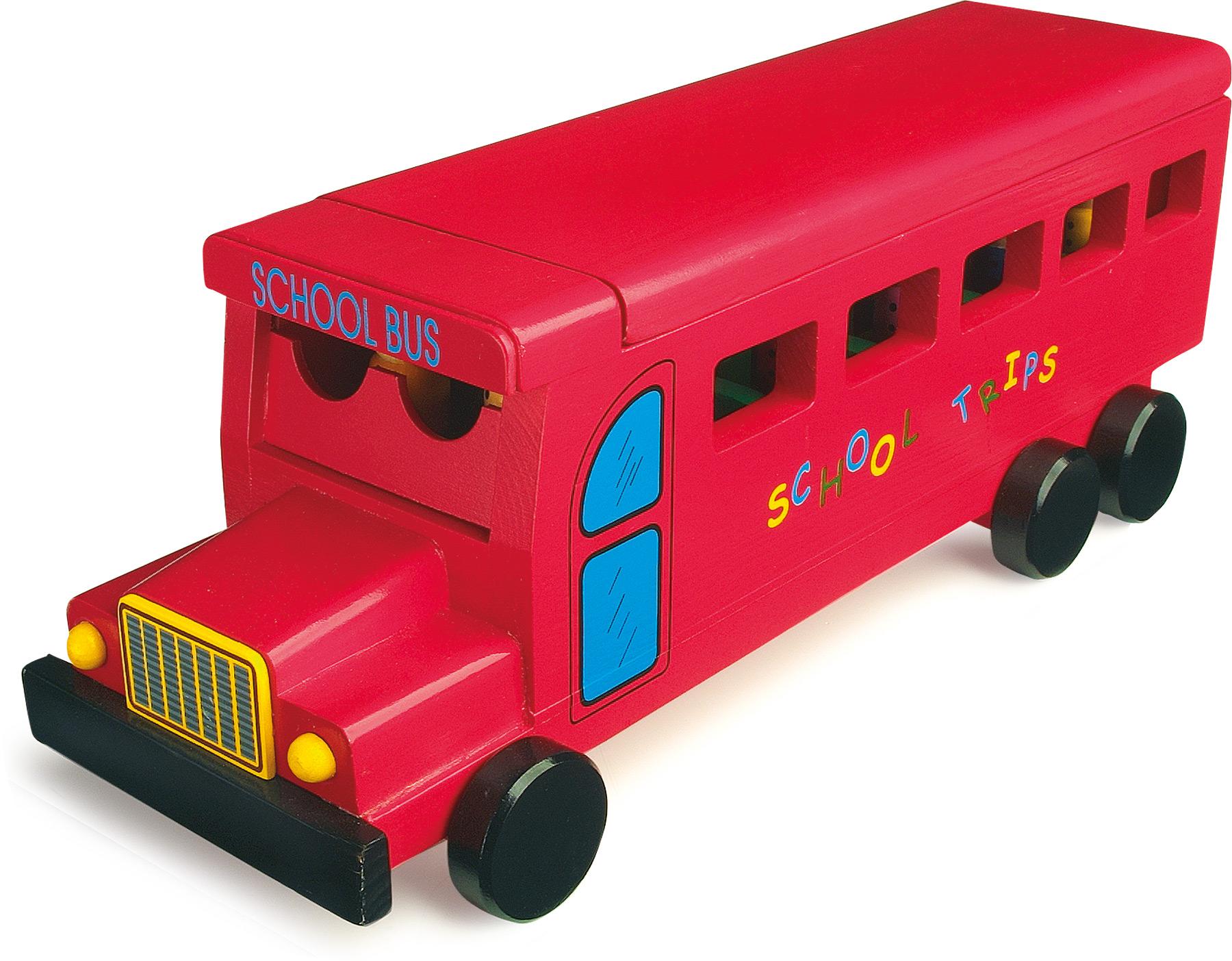 Small Foot Drevený školský autobus