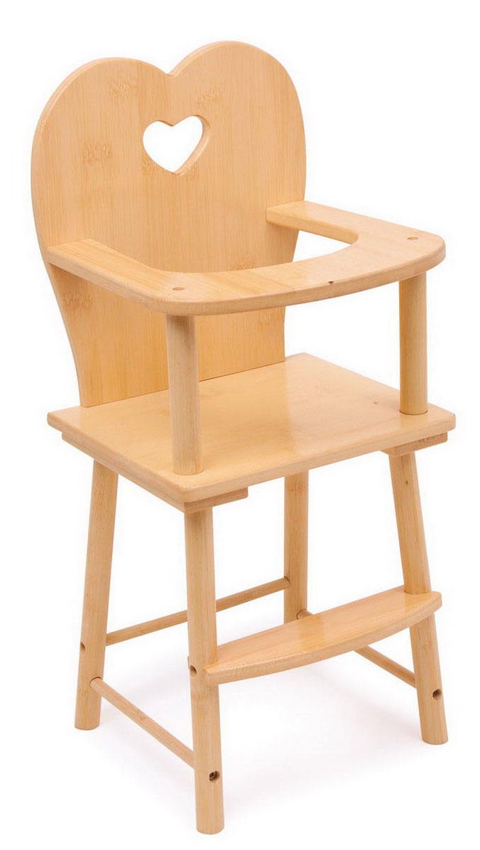 Small Foot Drevená stolička pre bábiky prírodná