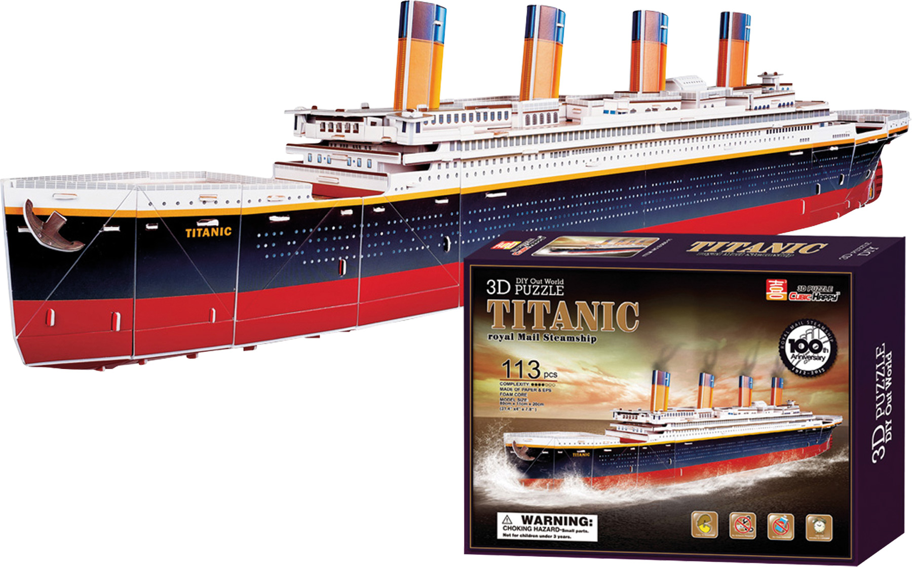 Small Foot 3D Puzzle Titanic