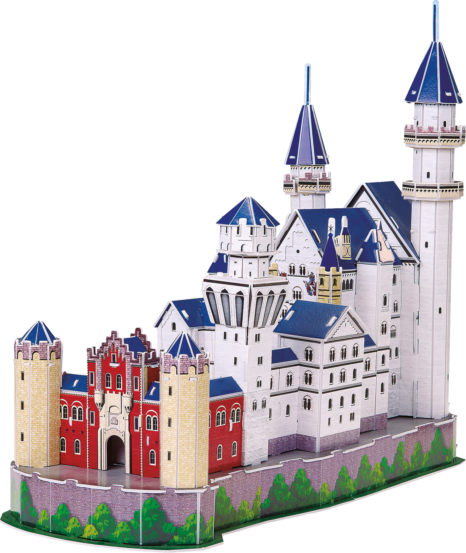 Small Foot 3D Puzzle Zámok Neuschwanstein
