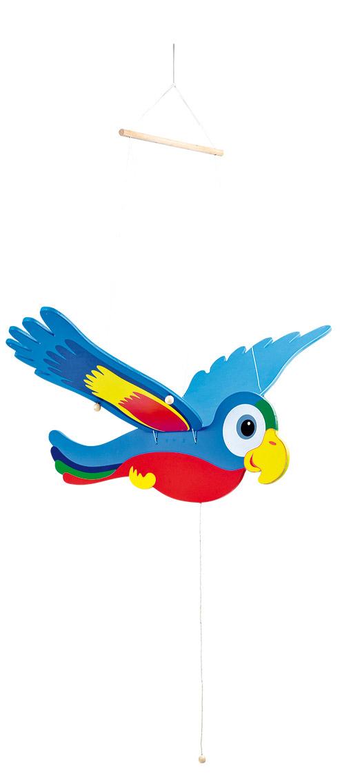 Small Foot Lietajúci Papagáj Ara