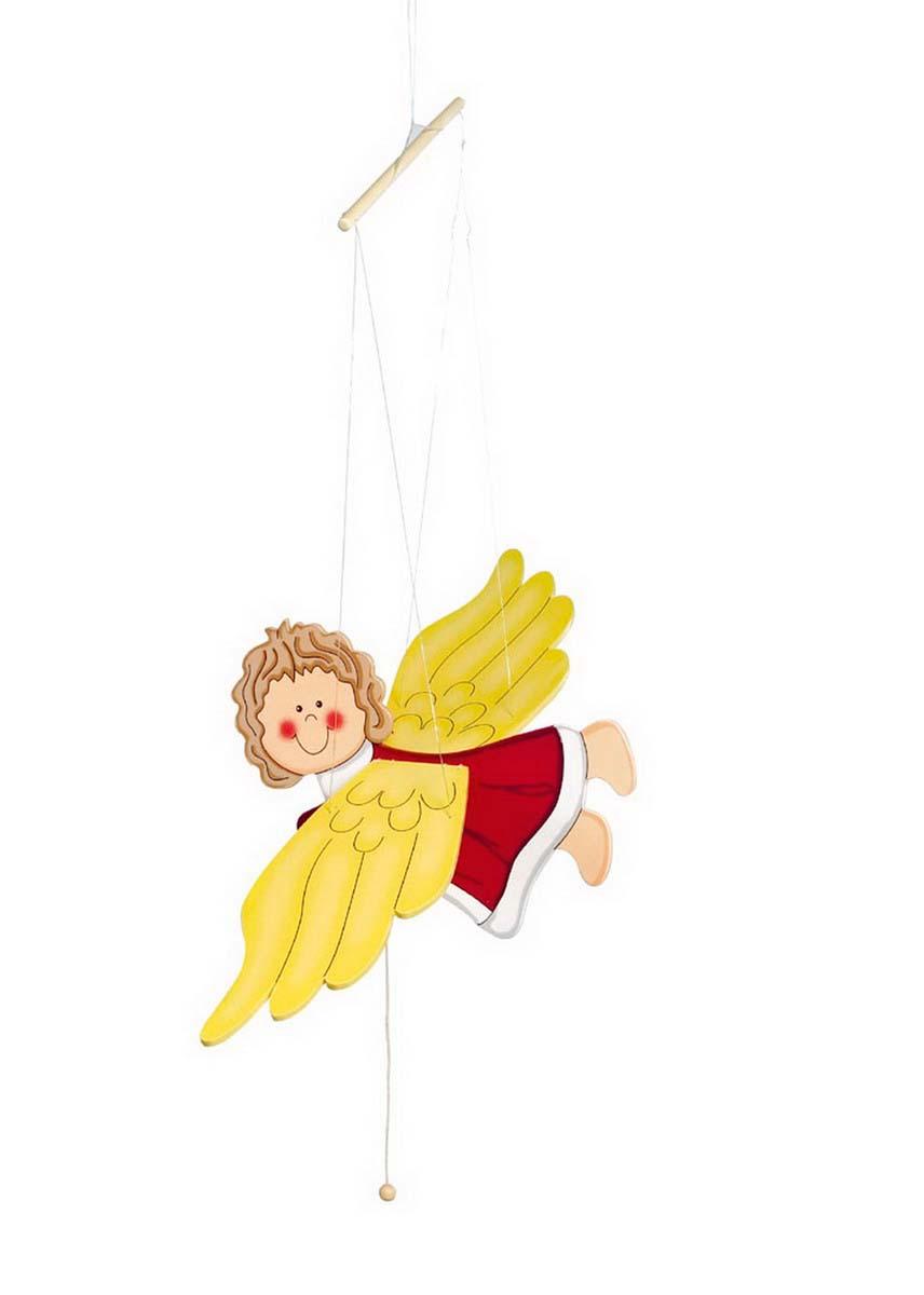 Small Foot Drevené dekorácie - Hojdací anjel