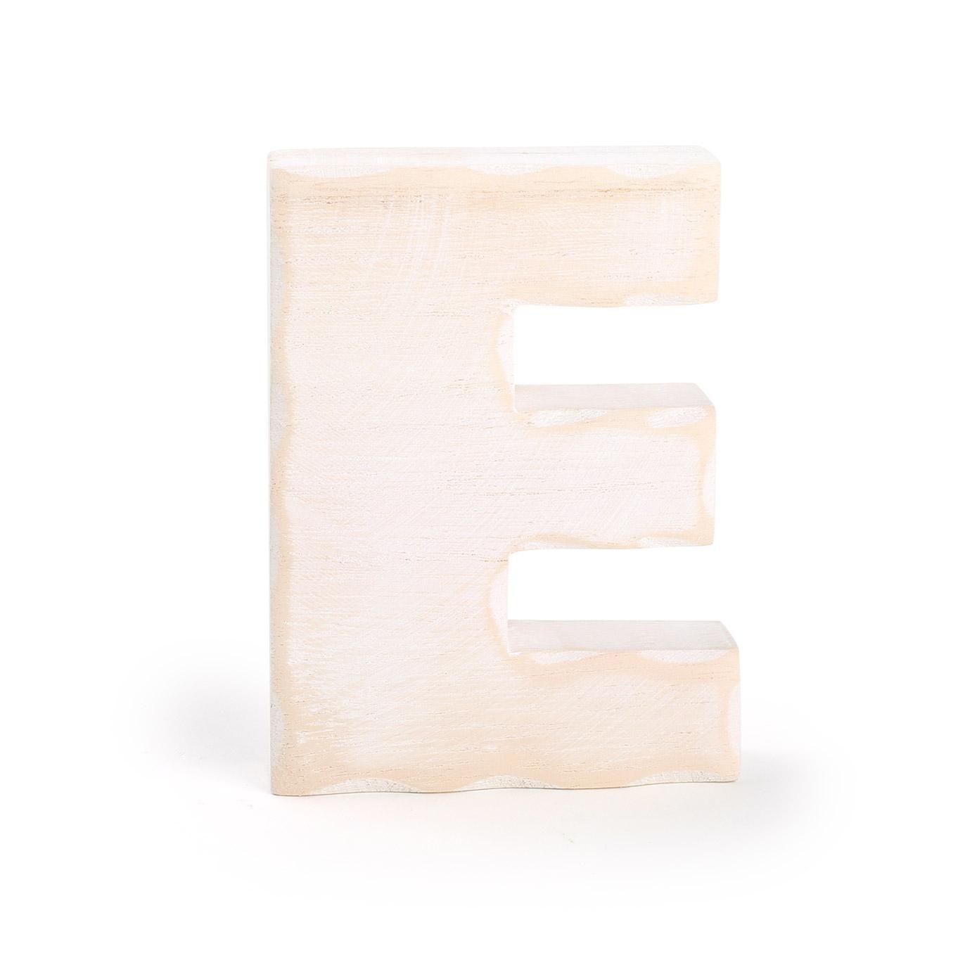 Small Foot Drevené písmeno E