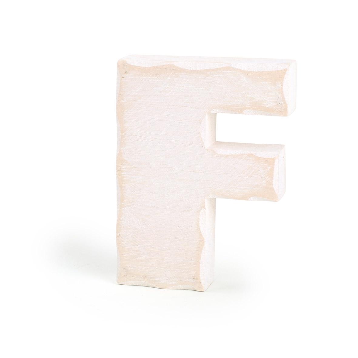 Small Foot Drevené písmeno F
