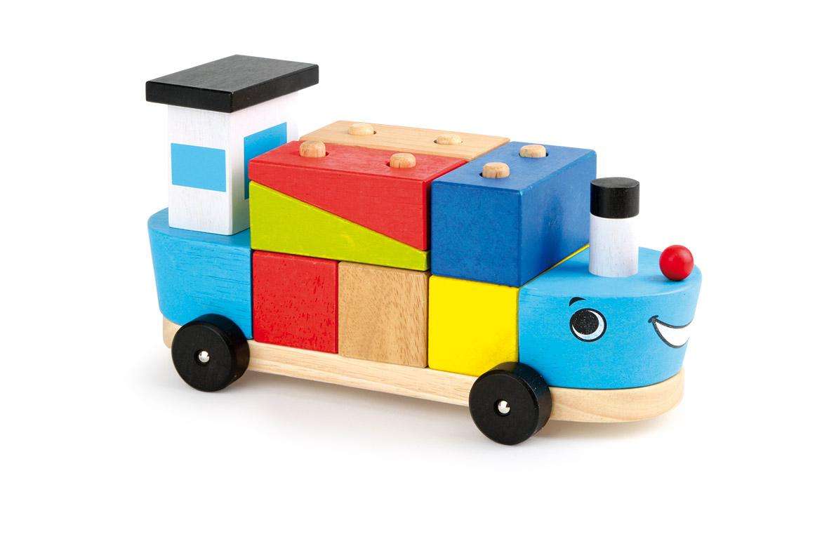 Small Foot Loď so stavebnými kockami