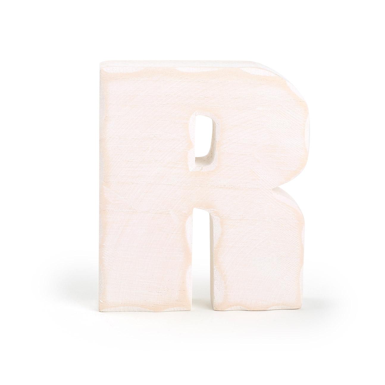 Small Foot Drevené písmeno R