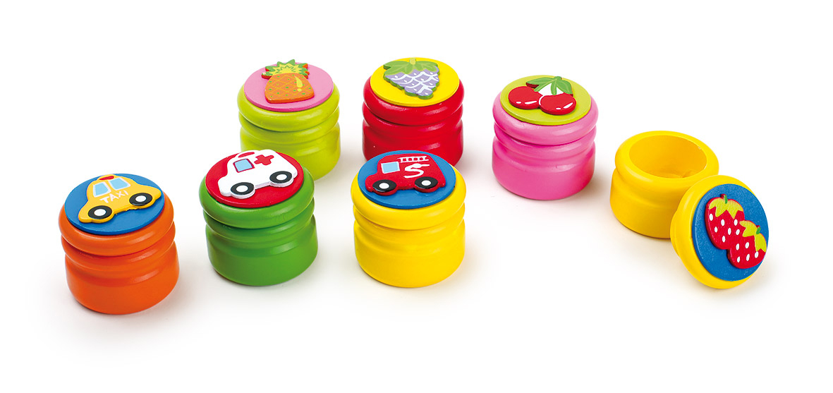 Small Foot Krabička na mliečne zúbky ovocie a autá