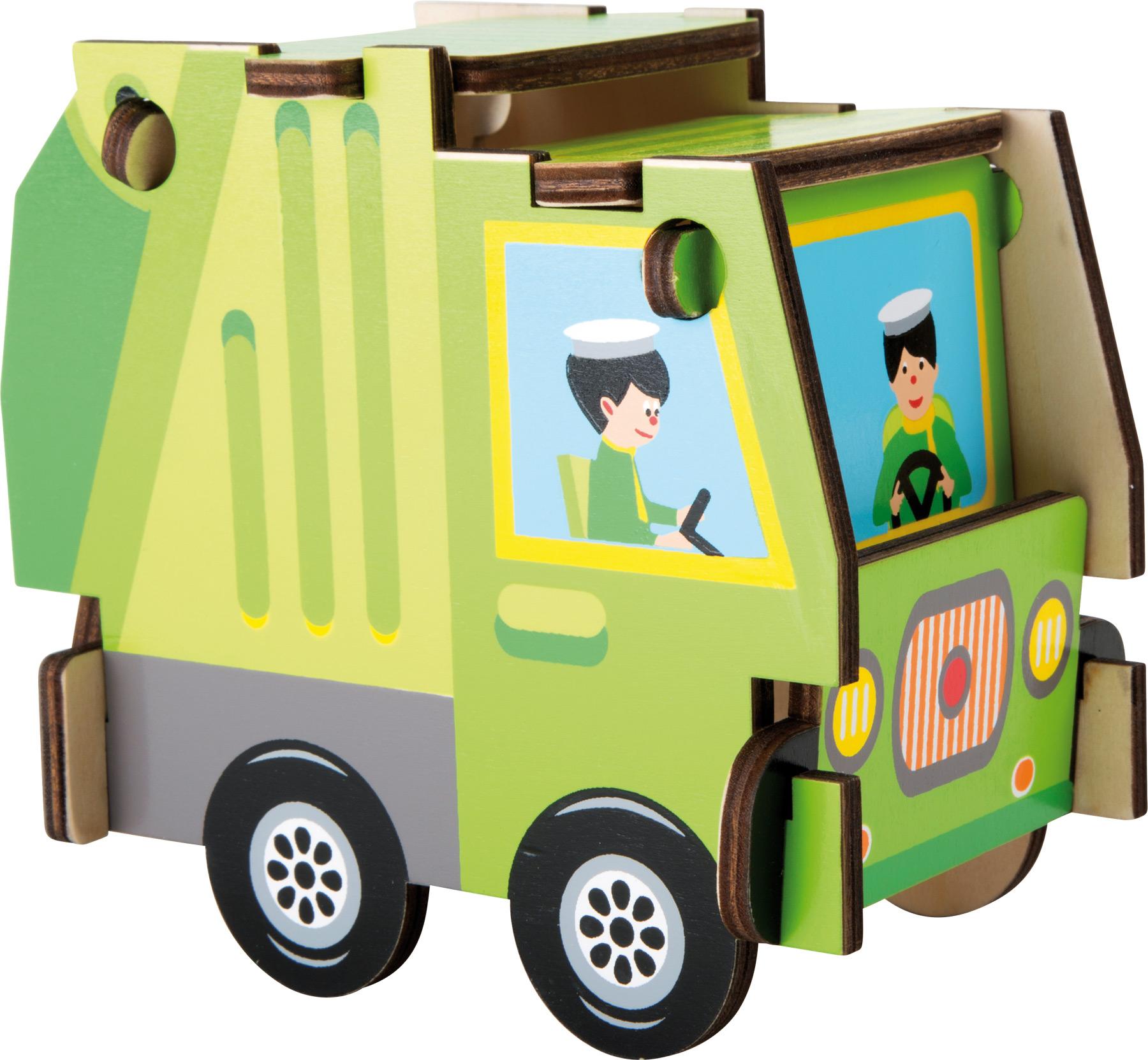 Small Foot Jednoduchá skladačka - Nákladné auto
