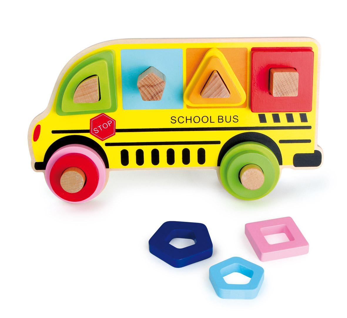 Small Foot Triediaca hra školský autobus
