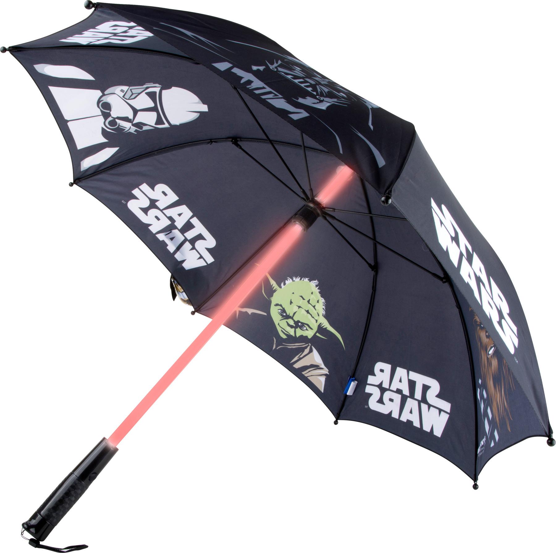 Small Foot Dáždnik Svetelný meč Star Wars