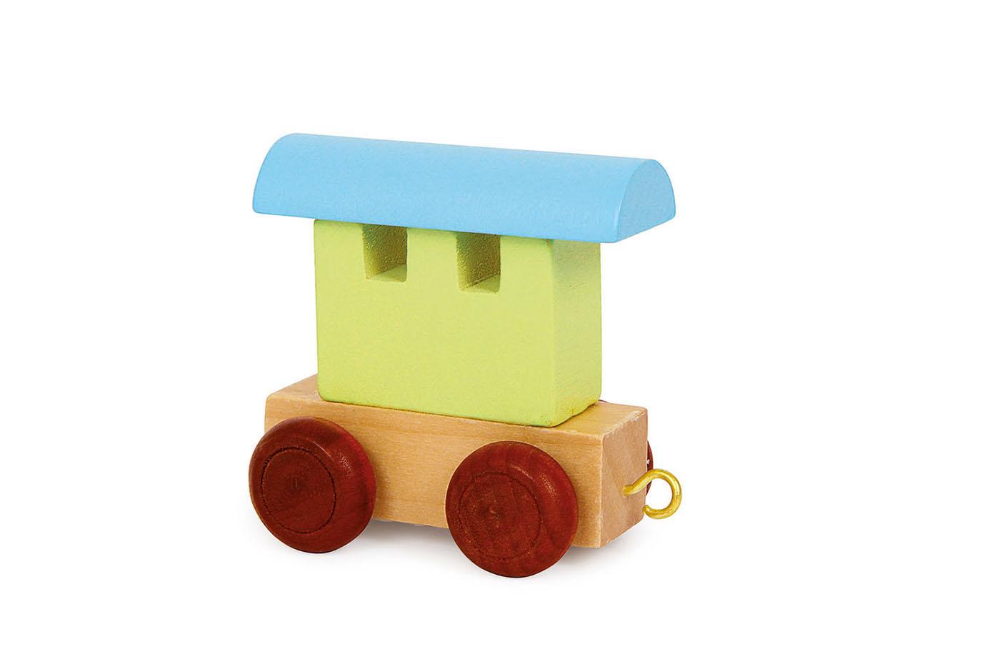 Písmenkový farebný vagón