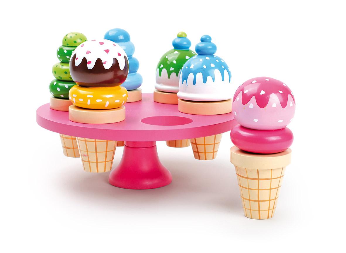 Small Foot Zmrzliny v kornútku na stojane