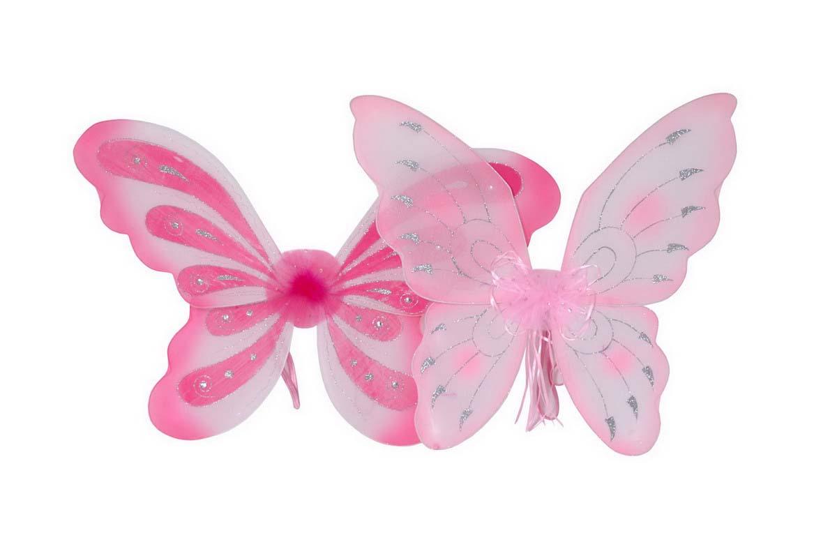 Small Foot Vílie krídla, ružové 2ks