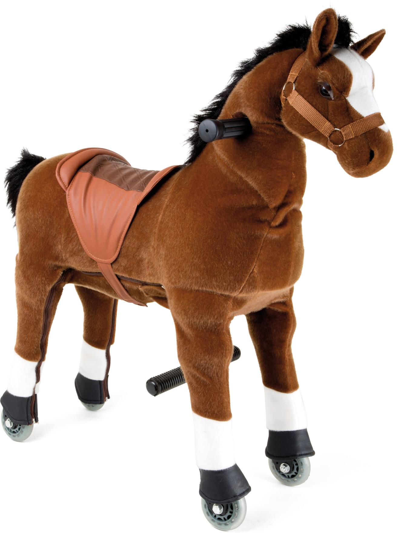 Small Foot Pohyblivý jazdecký kôň - Žriebä na kolieskách