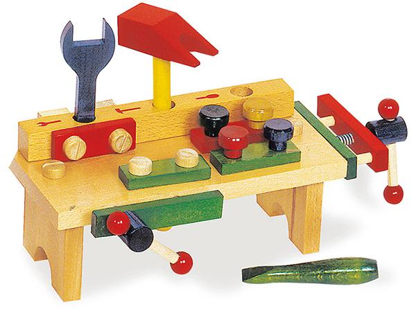 Small Foot Ponk - Pracovný stôl s náradím