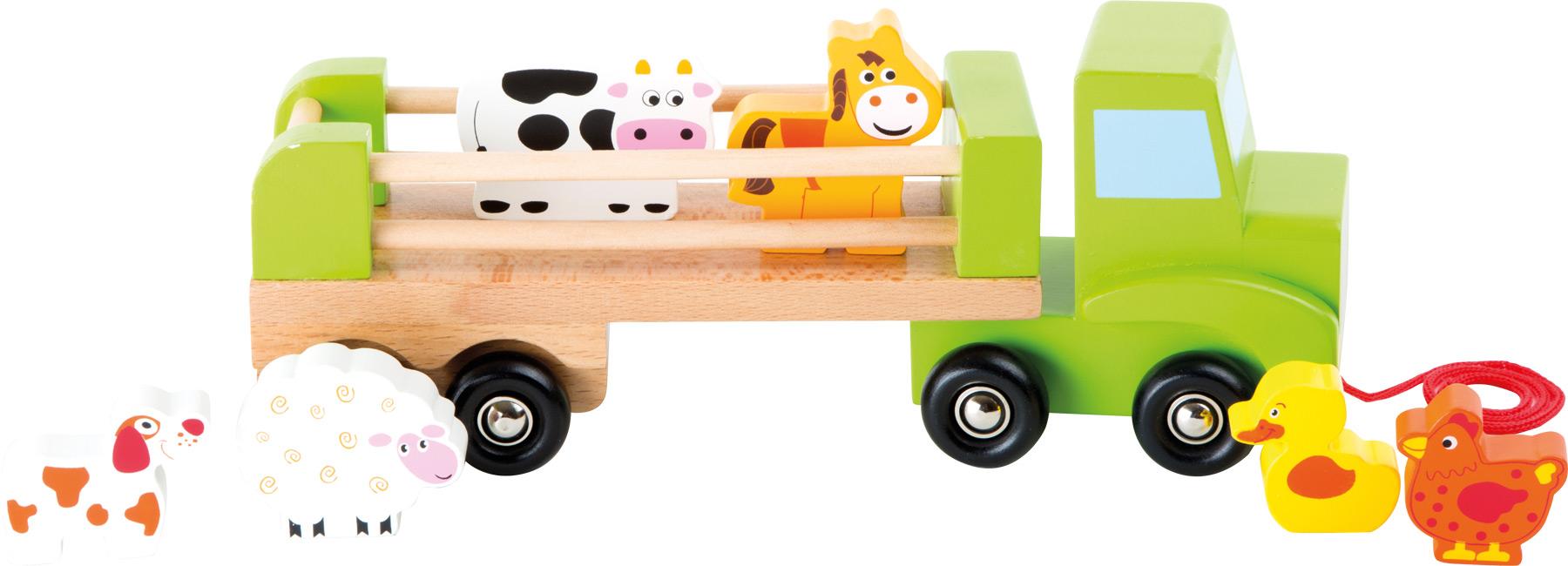 Small Foot Nákladné auto so zvieratkami