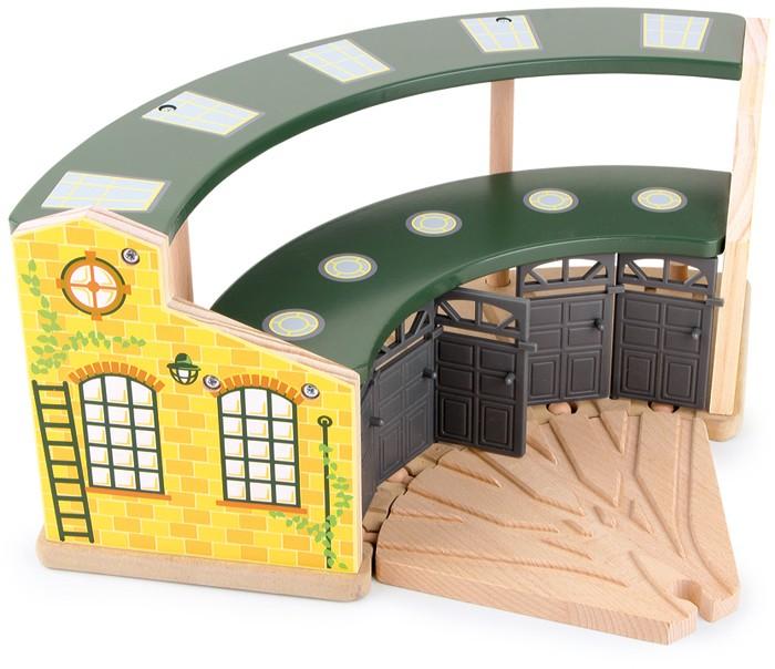 Small Foot Depo pre lokomotívy Round House