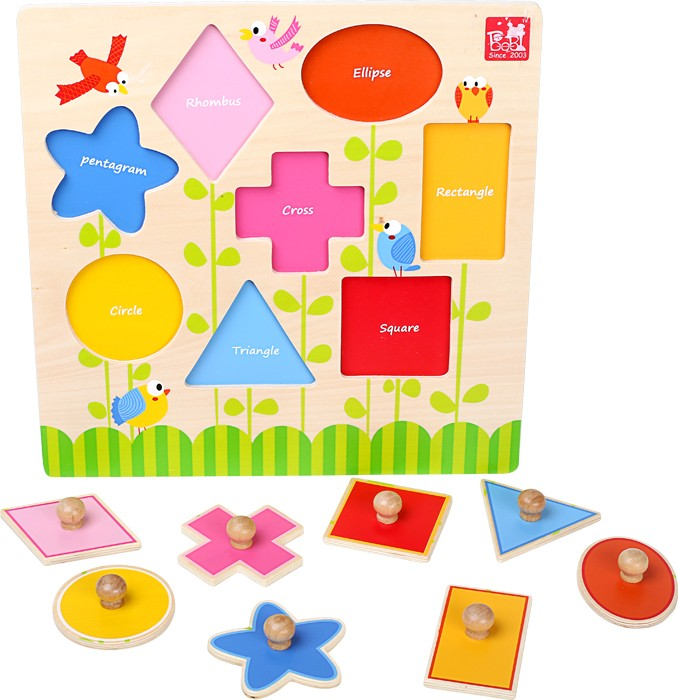 Small Foot Puzzle Tvary