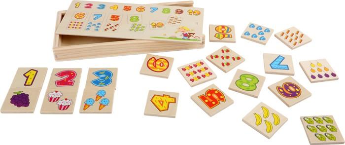 Small Foot drevené hry - Pexeso Čísla