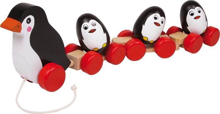 Small Foot Rodinka tučniakov na povrázku