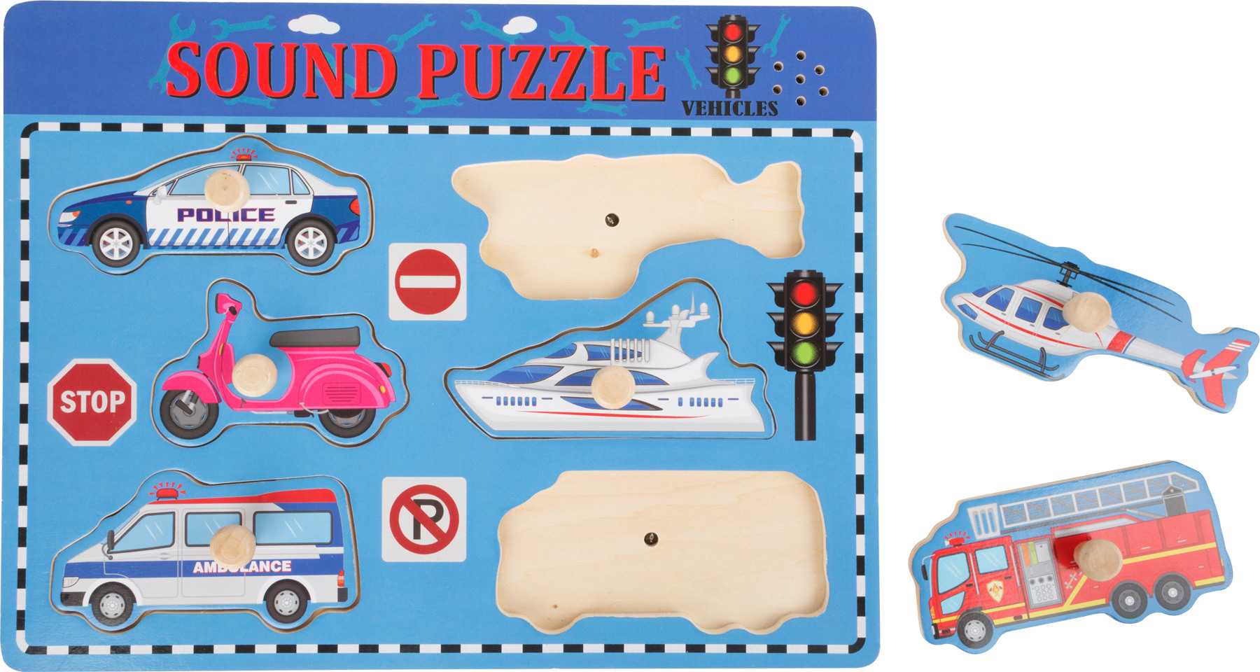 Small Foot Puzzle so zvukom