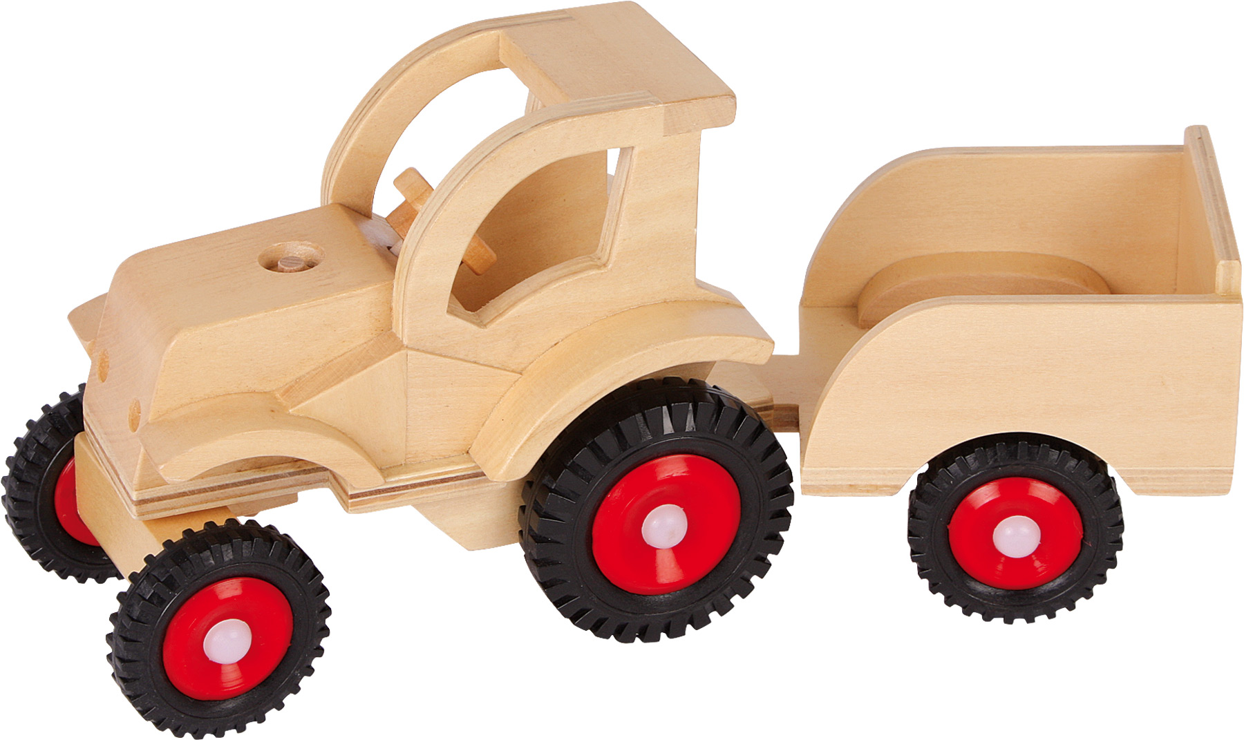 Small Foot Traktor s vlečkou