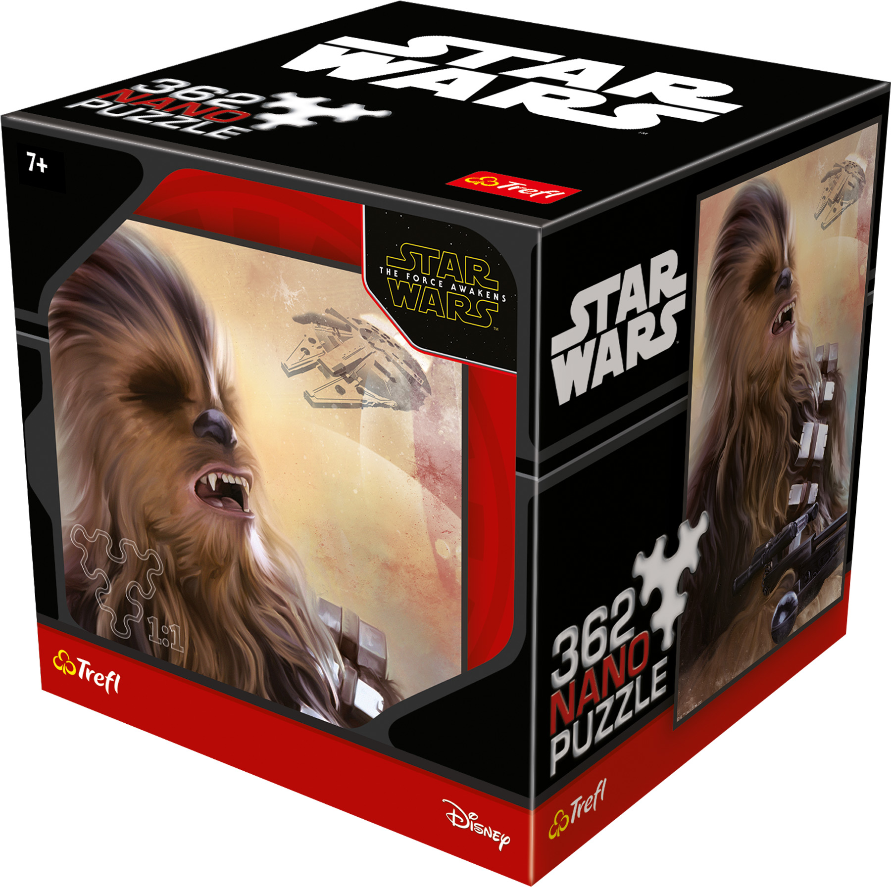 Small Foot Puzzle Star Wars Nano Chewbacca