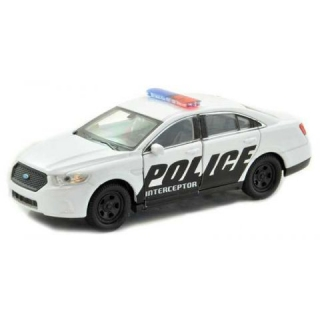Welly - Ford Policie Interceptor 1:34 bílý